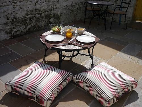 Renovujeme zahradní nábytek