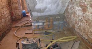 Sanace zdiva a hydroizolační vrstvy