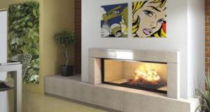 Designový krb vyhřeje váš domov