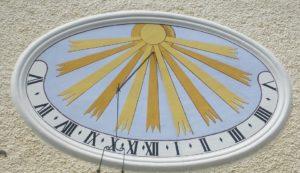 Sluneční hodiny, dokonalá dekorace domu